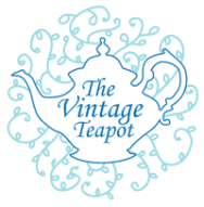 The Vintage Teapot Logo Circle