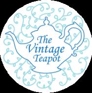 The Vintage Teapot Logo Circle